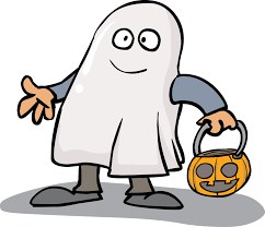 kids in halloween costume clipart collection