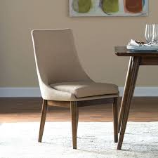 kitchen chair living carter mid century modern upholstered dining