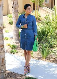 denim dress winter dresses blog