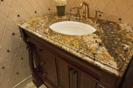 Bathroom Vanities Granite Top Granite Bathroom Vanity Tops Countertops Home With Regard To Plans