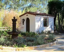 spanish style she shed jeff doubet santa barbara home design