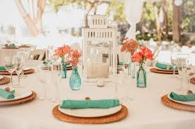 coastal centerpieces wedding decorations on a budget wedding decor ideas