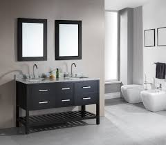 design element dec077c london 61 inch double sink vanity set with