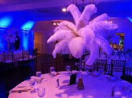 feather centerpieces feather centerpieces tips for your bat mitzvah wedding sweet