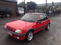 subaru hatchback 1990 1990 peugeot 205 cti 1 6 cabrio fsh excellent condition swap