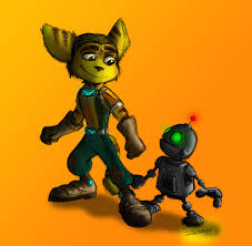 ratchet and clank colored by zeragii on deviantart