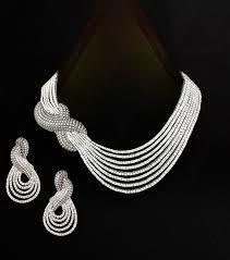 designer diamond sets designer diamond necklace sets in gurudwara road new delhi
