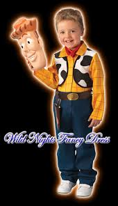 fancy dress boys woody toy story 3 deluxe age 5 6