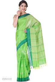 Buy Green Plain Cotton Silk Coimbatore Sarees Online Shopping Nalli Com