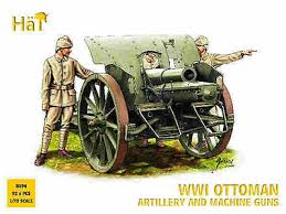 Ottoman Guns Wwi Ottoman Artillery And Machine Guns Plastic Model