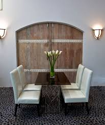 custom made dining table hospitality interior design manhattan