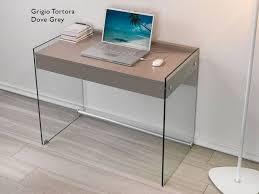 Schreibtisch Glasplatte Schreibtisch Für Computer Aus Glas