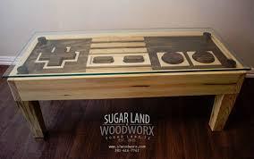Nintendo Controller Coffee Table Sugar Land Woodworx Sugar Land Tx Alignable