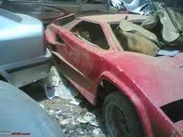 lamborghini countach replica pics replica countachs rotting in mumbai edit one more