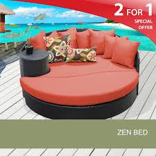 outdoor patio bed zen outdoor furniture design furnishings