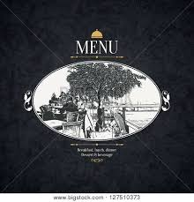 restaurant menu design vector vector u0026 photo bigstock