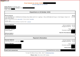 best of amazon invoice sample resume for a job