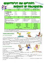 english teaching worksheets comparison of adverbs
