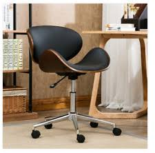 Vintage Office Desk Retro Office Desk Chair Adjustable Seat Vintage Guest Swivel Mid