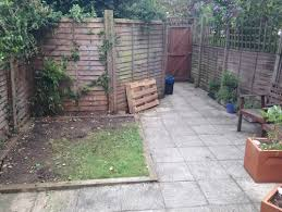 North Facing Backyard Small North Facing London Garden In Need Of Some Tlc