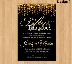 best 50th birthday party invitations ideas invitations templates