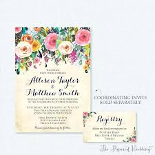 wedding registry invitation registry inserts for wedding invitations meichu2017 me