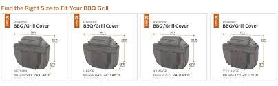 Patio Grill Cover by Amazon Com Classic Accessories Ravenna Grill Cover Premium Bbq