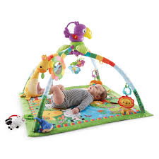 Fisher Price Rainforest Music Lights Deluxe Gym Playmats Gyms