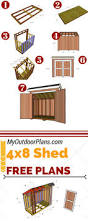 Free Plans For Building A Wood Shed by Best 25 Shed Plans Ideas On Pinterest Diy Shed Plans Pallet