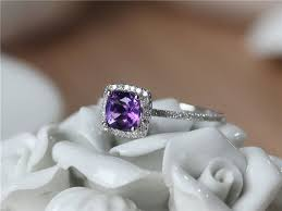 Amethyst Wedding Rings by The 25 Best Amethyst Engagement Rings Ideas On Pinterest Green