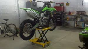 motocross bike lift poor man u0027s motorcycle lift moto related motocross forums