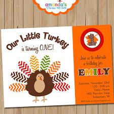 thanksgiving birthday invitation thanksgiving invitation