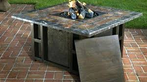 Patio Table With Firepit Propane Pit Table Costco Awesome Patio Beautiful Creativity