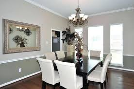 Two Tone Dining Room Paint Dining Rooms With Chair Rail Paint Ideas Best 25 Two Toned Walls