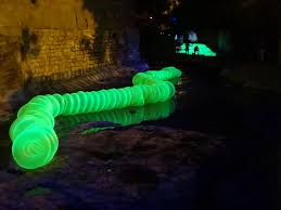 waller creek light show austin texas daily photo creek light show