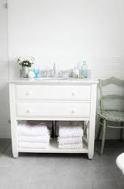 Cottage Bathroom Vanities by Marvelous Beach Cottage Bathroom Vanity With White Painted