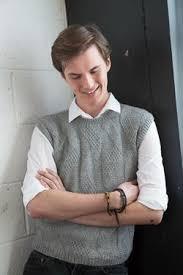 men u0027s grey vest knitting patterns and crochet patterns from