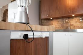 kitchen island receptacle interior design