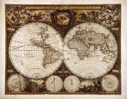 Canvas Map Of The World by World Map Maps Of Existing And Nonexistent Worlds Pinterest