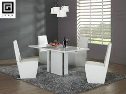 modern dining room sets dining tables captivating modern white dining table design ideas