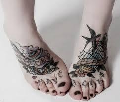 best 10 foot tattoo designs for women st