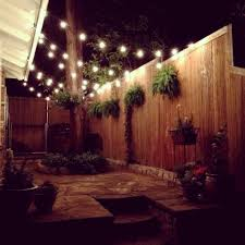 Lights On Patio Amazing String Lights For Patio Home Decor Pictures String Lights