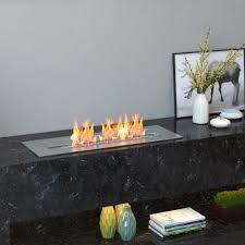 regal flame pro 18 inch bio ethanol fireplace burner insert 2 6