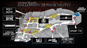 halloween horror nights the director someone made a map of halloween horror nights 27 youtube