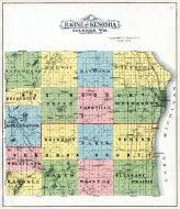 kenosha map racine and kenosha counties 1908 wisconsin historical atlas