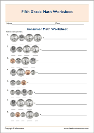 7th Grade Math Printable Worksheets Free Printable Worksheets For 5th Grade