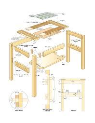 Home Workshop Plans Build A Mission Side Table U2013 Canadian Home Workshop