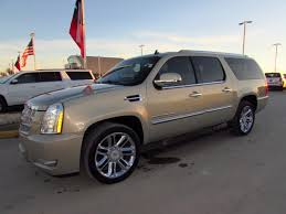 cadillac escalade 2017 gold gold cadillac escalade in texas for sale used cars on buysellsearch