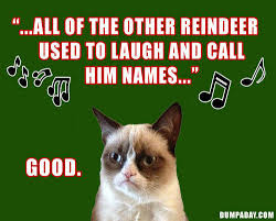 Cat Christmas Memes - grumpy cat christmas meme 002 all of the other reindeer comics and