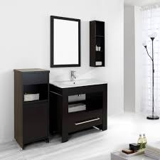 bathroom floor cabinet with solid surface technology bathroom